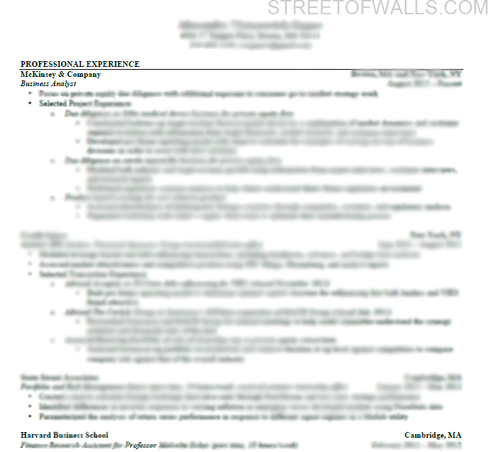 consulting resume cover letter street of walls